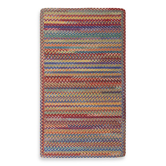 Alternate image 1 for Capel Kill Devil Hill Indoor Braided Rug - Multi Brights