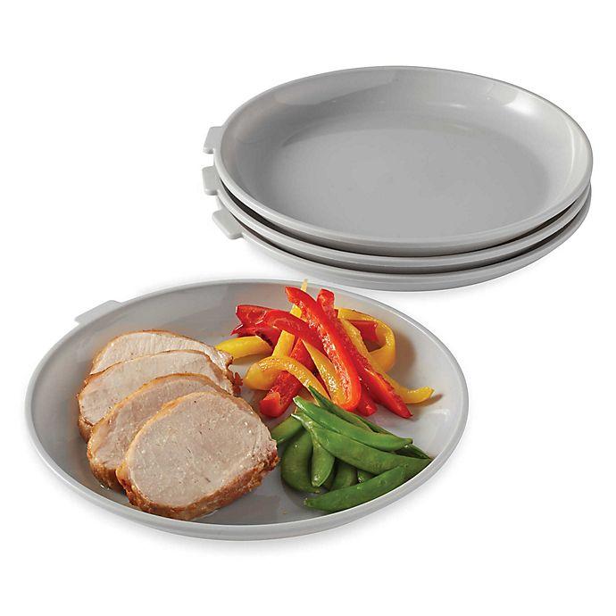 Alternate image 1 for SALT™ Microwave Plates (Set of 4)