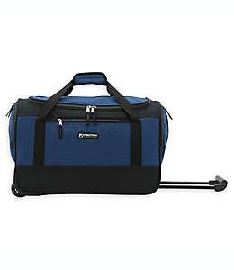 Bolsa de viaje con ruedas XPedition Traveler's Club® de 50.8 cm en negro/azul marino