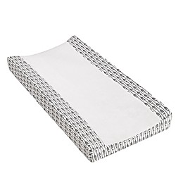 Levtex Baby® Tanzania Parade Changing Pad Cover in Grey/Ivory