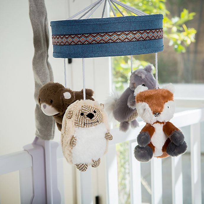 Alternate image 1 for Levtex Baby® Play Day Woodland Animals Musical Mobile