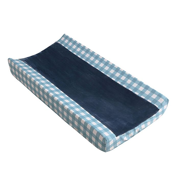 Alternate image 1 for Levtex Baby® Play Day Changing Pad Cover in Navy