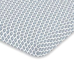 NoJo® Hues Fitted Crib Sheet in Indigo