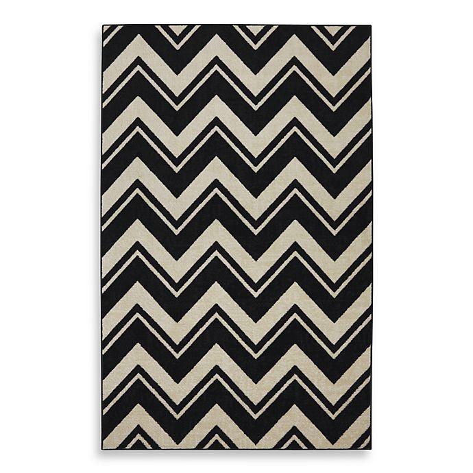 Black And White Chevron Bathroom Rug: Buy Mohawk Home Lascala Chevron Stripe Indoor Rugs In