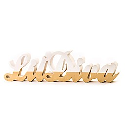 Décor WallFetish Lil' Diva 5-Inch x 20-Inch Wood Tabletop Art