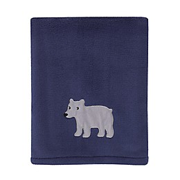 carters® Explore Baby Bear Stroller Blanket in Navy