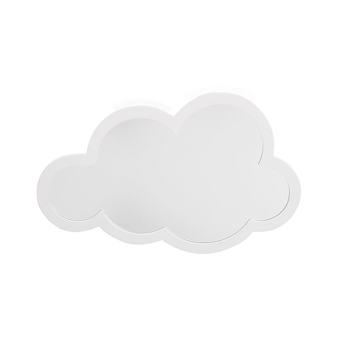 Alternate image 1 for Little Love by NoJo® Cloud Shape Wall Mirror in White