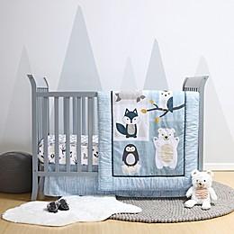 Belle Nordic Wonder Reversible 4-Piece Crib Bedding Set
