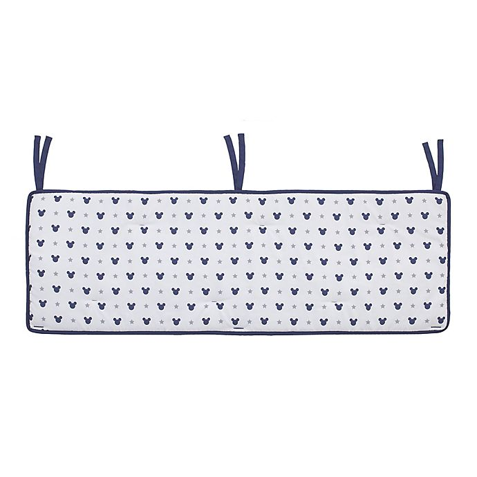 Alternate image 1 for Disney® Baby Mickey Mouse™ Crib Rail Guard in Navy
