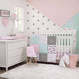 carter's® Unicorn Snuggles Crib Bedding Set in Pink