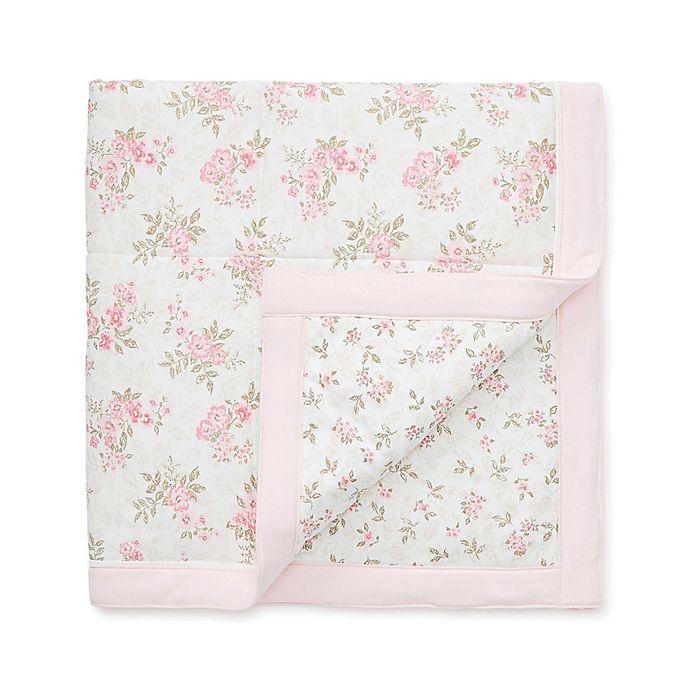Alternate image 1 for Little Me Ivy Rose Blanket