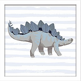 Linden Ave Stegosaurus 10-Inch Square Wall Art