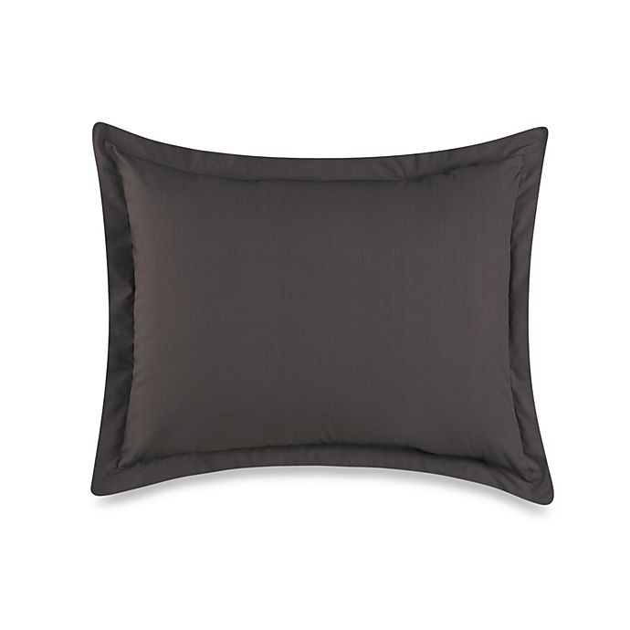 Alternate image 1 for Smoothweave™ Tailored European Pillow Sham in Grey