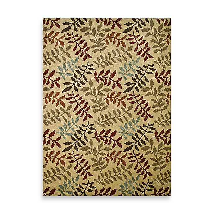 Alternate image 1 for Concord Global Leafs Rug in Ivory