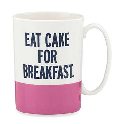 "kate spade new york Things We Love™ ""Eat Cake for Breakfast"" Mug"