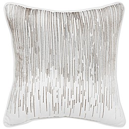 Croscill Penelope 16-Inch Square Throw Pillow in Neutral