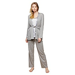 Motherhood Maternity® Nursing Pajama Set in Grey