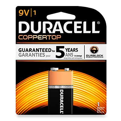 Duracell® 9V Battery (Single Pack)