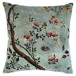 Cheyenne Graphic/Print Square Throw Pillow in Mint
