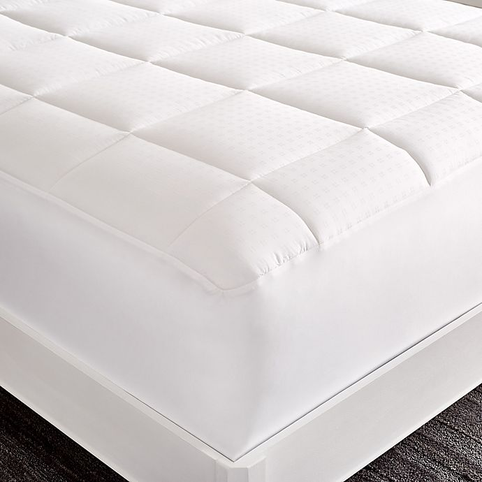 Alternate image 1 for Staywell Hygro®Cotton 400-Thread-Count Tencel® Twin Mattress Pad in White
