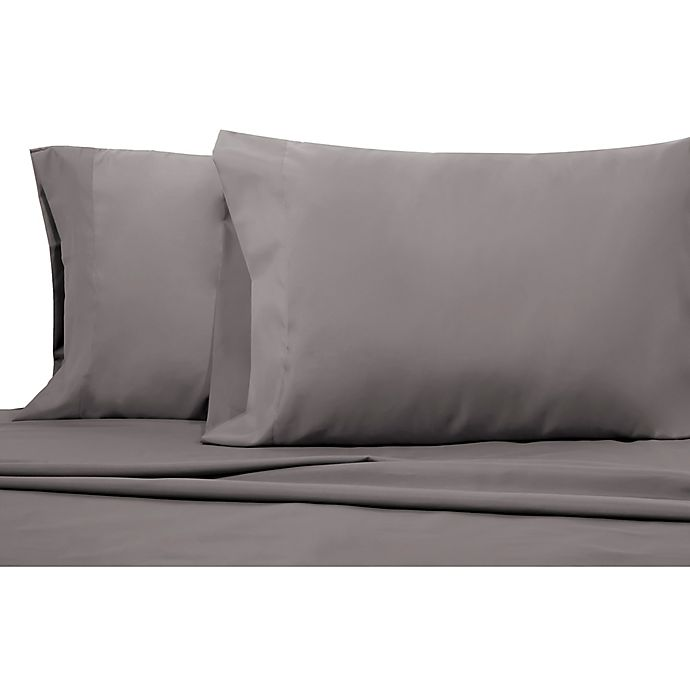 Alternate image 1 for 200-Thread-Count Benzoyl Peroxide-Resistant Microfiber Standard Pillowcases (Set of 2)