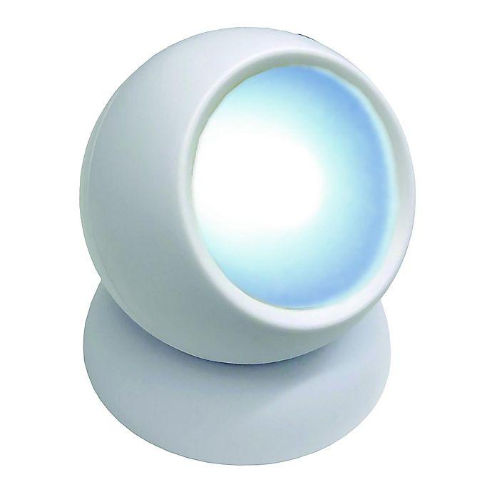 Alternate image 1 for Bell + Howell Bionic Ball 3-Pack LED Light Motion Sensors in White