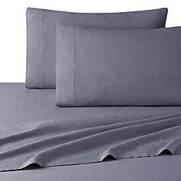 UGG® Devon Garment Washed Full XL Sheet Set in Heather Navy