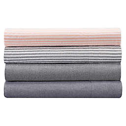 UGG® Devon Garment Washed Striped Twin XL Sheet Set in Sunset