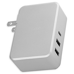 iHome® Laptop 45 W Charger in Silver