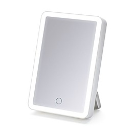iHome™ Portable 1x LED Vanity Mirror With Bluetooth™ Speaker in White