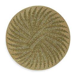 Kaleen Pablo Round Rug in Gold