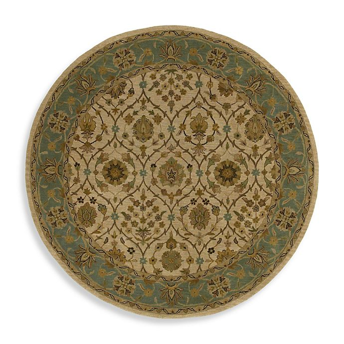 Alternate image 1 for Kaleen Palma 7-Foot 9-Inch Round Rug in Ivory