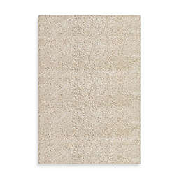 Concord Global Shag 3'3 x 4'7 Accent Rug in Ivory