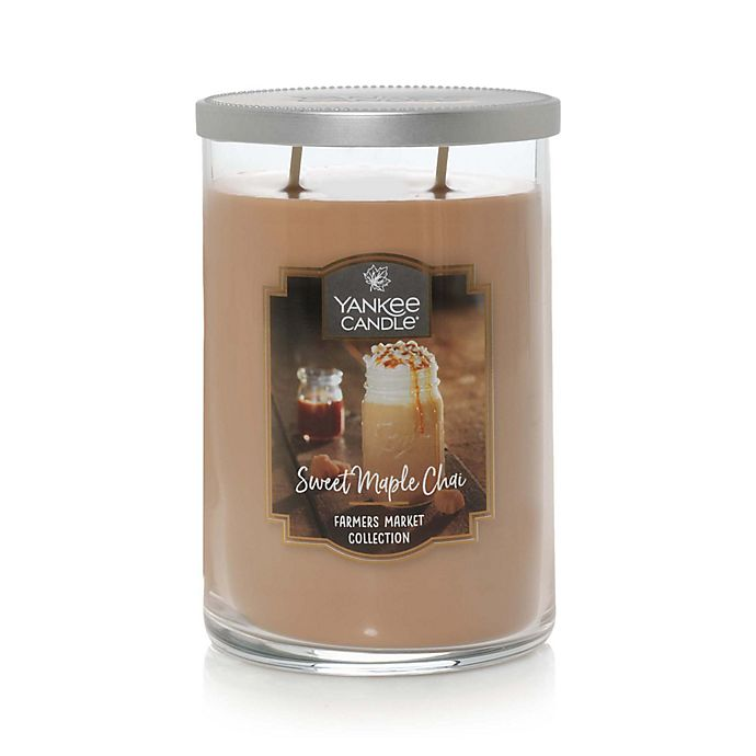 Alternate image 1 for Yankee Candle® Sweet Maple Chai™ Large 2-Wick Tumbler Candle
