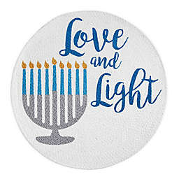 Love and Light Hanukkah Placemat