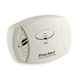 First Alert® CO605 Carbon Monoxide Alarm with Battery Backup
