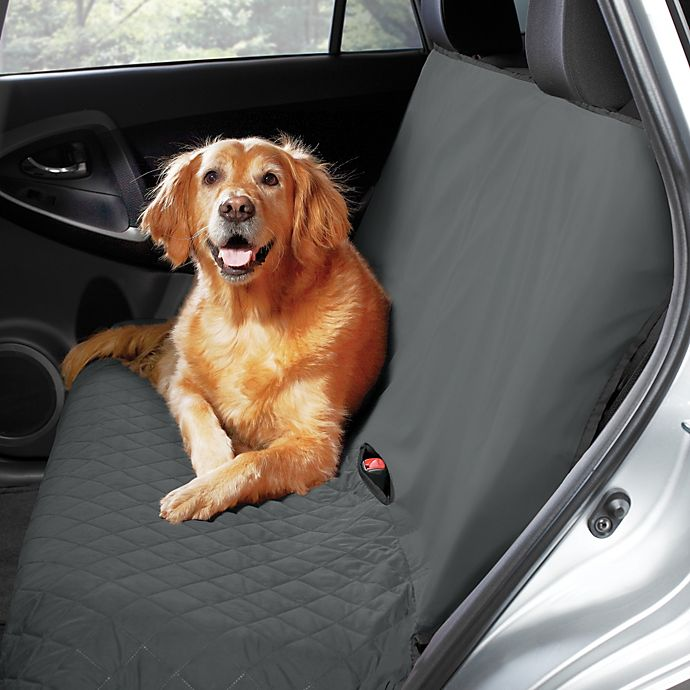 Alternate image 1 for Pawslife™ Bench Style Quilted Car Seat Cover