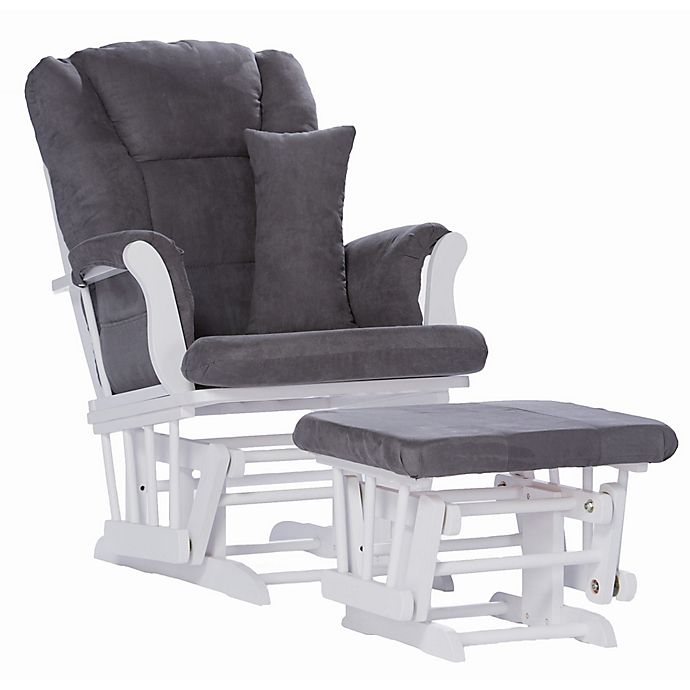 Alternate image 1 for Storkcraft Tuscany Glider and Ottoman