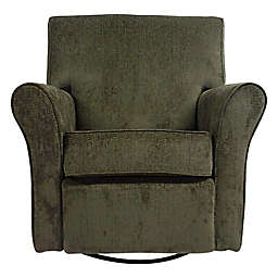 The 1st Chair™ Jovi Swivel Glider Recliner in Flaxseed