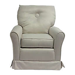 The 1st Chair™ Tate Swivel Glider in Seashell