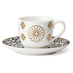 Lenox® Global Tapestry Sapphire™ 4-Piece Espresso Cup and Saucer Set