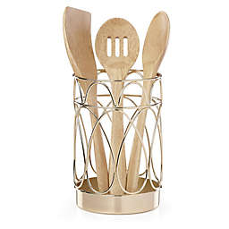 kate spade new york Arch Street™ 4-Piece Utensil Holder and Tool Set