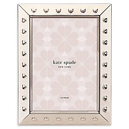 kate spade new york Heart to Heart™ 5-Inch x 7-Inch Picture Frame