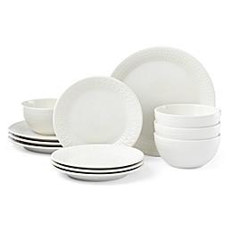 kate spade new york Willow Drive Cream™ 12-Piece Dinnerware Set