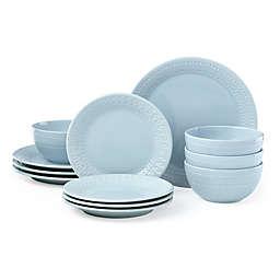 kate spade new york Willow Drive Blue™ 12-Piece Dinnerware Set