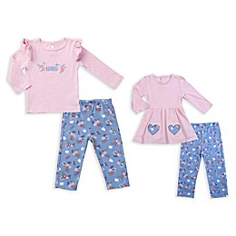 asher and olivia® 4-Piece Twin Pant Set