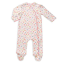 asher and olivia® 2-Piece Footed Pajama and Hat Set