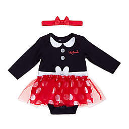Disney® Minnie Mouse Tutu Bodysuit in Black