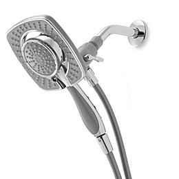 Delta In2ition® 2-in-1 Square Chrome Handshower