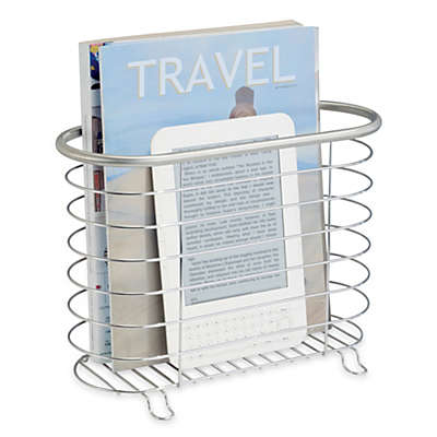 InterDesign® Forma Ultra Brushed Stainless Steel Magazine Rack